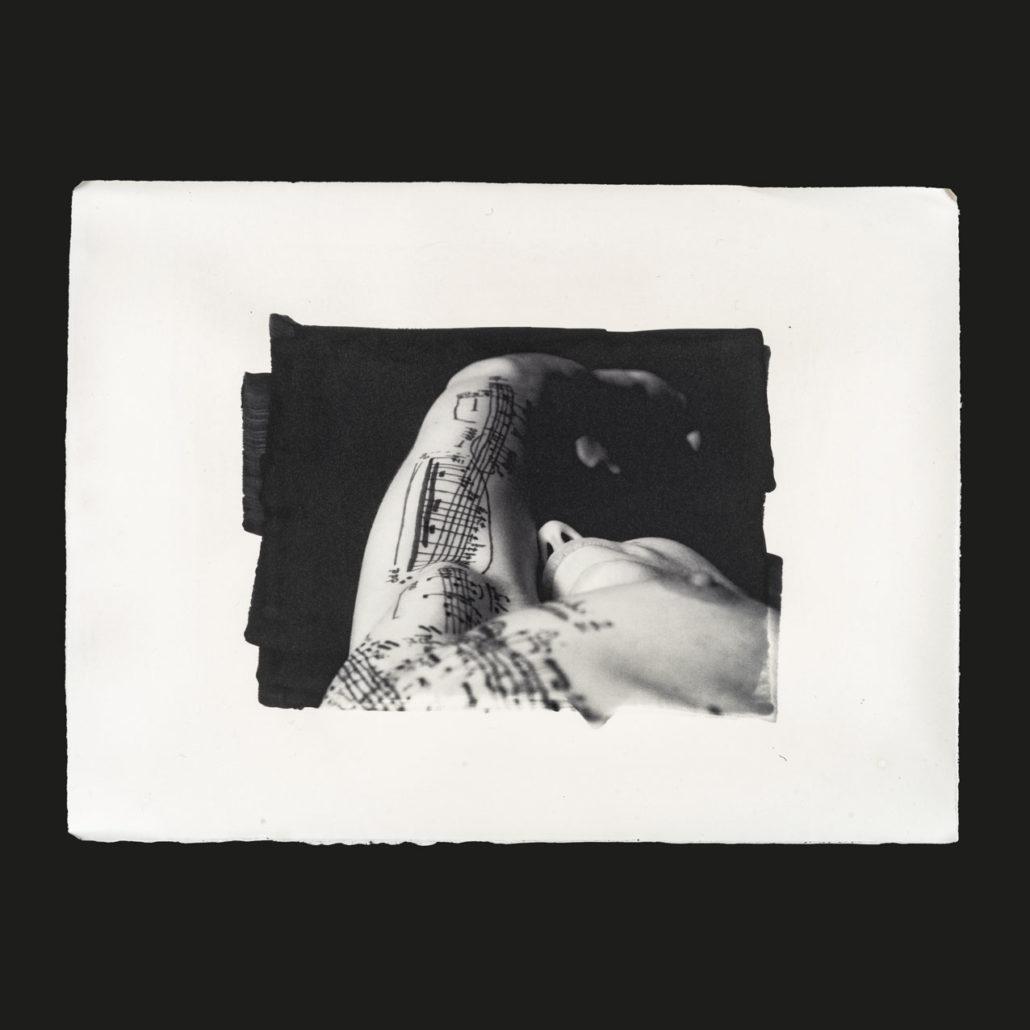 Estelle-Esquisse (2018) stampa al carbone 38 x 28 cm
