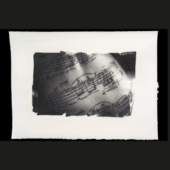 Marion-Esquisse/B (2018) stampa al carbone 38 x 28 cm
